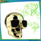 Altoparlante senza fili di Bluetooth di figura del cranio