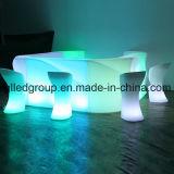 contador recargable plástico de la barra de los muebles ligeros LED de 16colors LED para el club nocturno