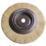 Balai en bois de polissage rotatoire de sisal de Tampico avec le papier de ponceuse