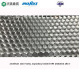 Plaque en aluminium d'âme en nid d'abeilles (HR1150)