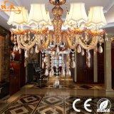 Lampadario a bracci a cristallo chiaro Pendant decorativo domestico del LED