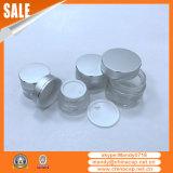 表面クリームのためのアルミニウムふたが付いている15g20g30g50g化粧品のガラス瓶