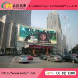 Publicité commerciale visuelle polychrome extérieure de mur/étalage/écran de DEL la grande, P20mm
