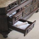 Antike Art-Eichen-Holz-gesundheitliche Ware-Badezimmer-Möbel