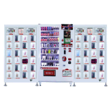 Los juguetes adultos del sexo del modelo nuevo utilizaron las máquinas expendedoras