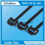 Serre-câble libérable d'acier inoxydable