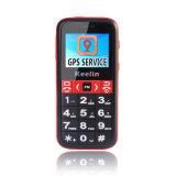 歩数計(K20)を呼出す年配の携帯電話GPS/Lbsの長い生命電池の高い懐中電燈の大きいキーボードSos