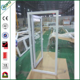 Double Glazing UPVC Profile Single Sash French Door