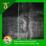 Schwarze Plastikbodendeckelweed-Matte