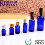 De Flessen van het Glas van de roller met de Ballen van de Rol van het Roestvrij staal voor 10ml (1/3oz) Navulbare Flessen voor Essentiële Oliën