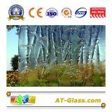 3~8mm freies/buntes Glasmöbel-Glasfenster-Glas-gekopiertes Glas