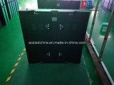 Gabinete impermeável ao ar livre do diodo emissor de luz de SMD para a instalação fixa (P8, P10)