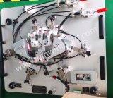Coche que controla el dispositivo para saber si hay componente del vehículo, piezas plásticas, asamblea