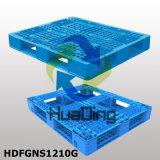 """1200X1000 (48 """" X40 """") kies Gezicht met Pallets van de Lage Prijs van Open Dekken de Gestapelde Plastic uit"""