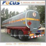 50cbm Oplegger van de Vrachtwagen van de Tanker van de Aardolie van de Stookolie van 3 Compartimenten de Vloeibare