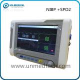 Neuf-Dessus de table moniteur de 7 signes vitaux de pouce : NIBP&SpO2