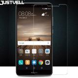 Huaweiの仲間9のための携帯電話の緩和されたガラススクリーンの保護装置