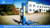 Sola elevación hidráulica del coche de poste