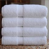 100%年の綿の明白で白いタオル(DPF2416)