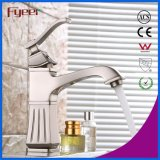 Fyeer Europen Style Nickle Brushed Bathroom Mixer Taps