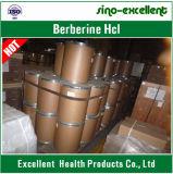 自然なBerberine HClのCoptisのルートエキスの粉