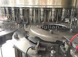 Máquina que capsula de relleno del fregado de las botellas