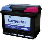 Wartungsfreie Batterie-Speicher-Leitungskabel-Säure-Batterie DIN72 Largestar