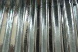 Galvanisiertes gewölbtes Blatt, gewölbtes Zink-überzogenes Stahlblech