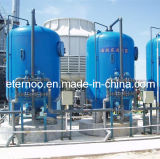 filtre de sable de lavage arrière industriel du grand flux 80m3/H-200m3/H