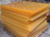 Свет - желтый лист полиуретана, лист белое 30MPa PU, 80 - 90shore a