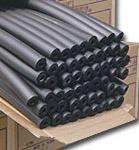1.83m Length Black Nitrile Rubber Insulation Tube