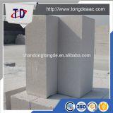 Le sable a basé le bloc léger de mur du blanc AAC