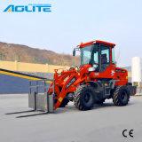 Трактора машины 1ton земли затяжелитель фронта затяжелителя Moving малый для сбывания