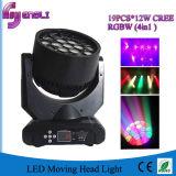 19PCS LED beweglicher Kopf der Wäsche-Stadiums-Beleuchtung (HL-004BM)
