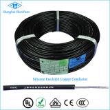Câble isolé flexible de soudure à l'arc électrique en caoutchouc de silicones