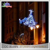 LED comercial ao ar livre Motif Street Decoração Pole Light