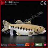 Brinquedo Lifelike macio enchido dos peixes do luxuoso do baixo Largemouth de animal aquático