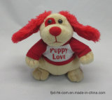 Cão de brinquedo do luxuoso do movimento da orelha do Flapping do presente do Natal