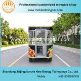 Chariot exquis d'aliments de préparation rapide de Jiejing pour la vente