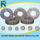 Romatools 다이아몬드는 화강암, 세라믹 대리석, 돌을%s 톱날을