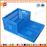 Cestino di plastica pieghevole di giro d'affari di logistica della frutta del contenitore di immagazzinaggio di vegetali (Zhtb13)