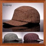 カスタムブランク5パネルによって合われる曲がったパレット帽子