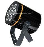 RGBW 4in1 7X8w PAR36 LEDの同価は屋内段階のためにつくことができる