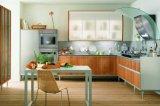 Meubles lustrés élevés de Module de cuisine