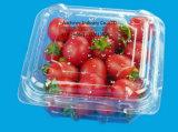 Emballage en bouteille Clamshell transparent Emballage jetable en plastique Boîte à salade de gâteau aux fruits