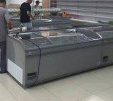 直接冷却のスーパーマーケット大きい容量の島のフリーザー