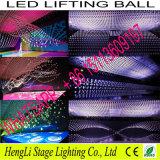 Sfera cadente di sollevamento di RGB LED per effetto di decorazione speciale della fase (HL-054)
