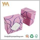 Rectángulo de empaquetado cosmético de papel de lujo del rectángulo de regalo