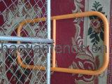 一時チェーン・リンクの塀のパネル、臨時雇用者のチェーン・リンクのパネル