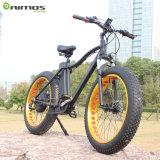 Bici eléctrica de la nieve gorda del neumático para el ejercicio de la montaña